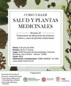 Módulo II Curso Taller Salud y Plantas Medicinales