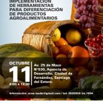 Jornada «Implementación de herramientas para diferenciación de productos agro»