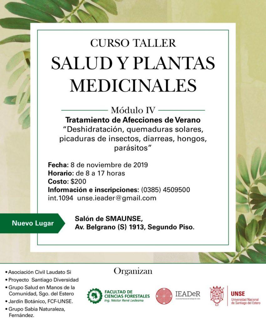 IV Módulo Curso Taller Plantas Medicinales