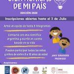 Invitación: Concurso de cuentos «Cientichicas de mi país»