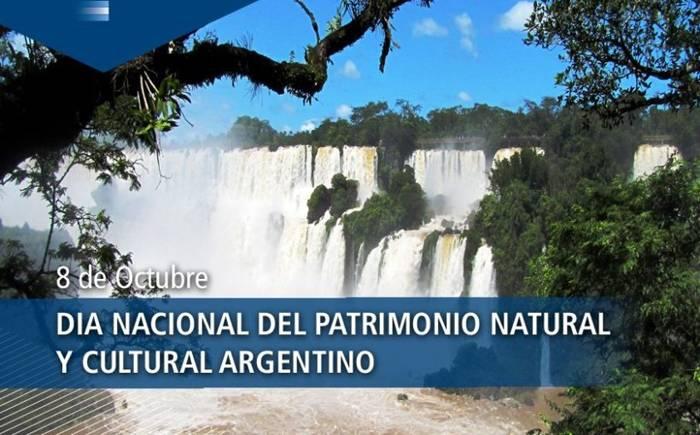 8 de octubre: Día nacional del patrimonio natural y cultural argentino