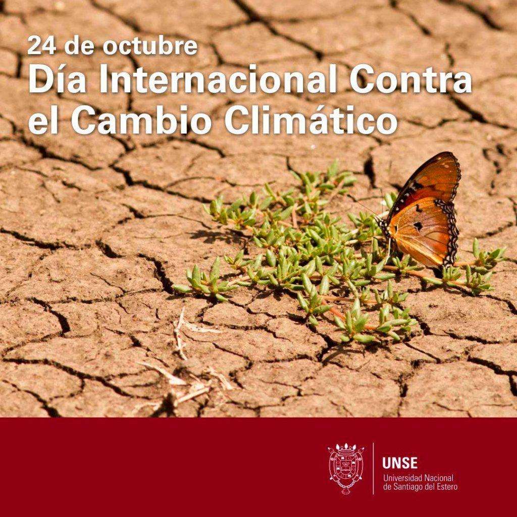 24 de octubre: Día Internacional contra el Cambio Climático