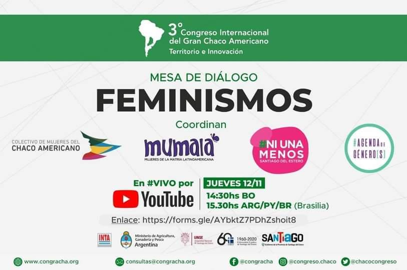 CONGRACHA: Mesa de diálogo sobre Feminismos