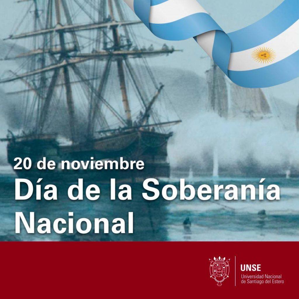 20 de noviembre: Día de la Soberanía Nacional