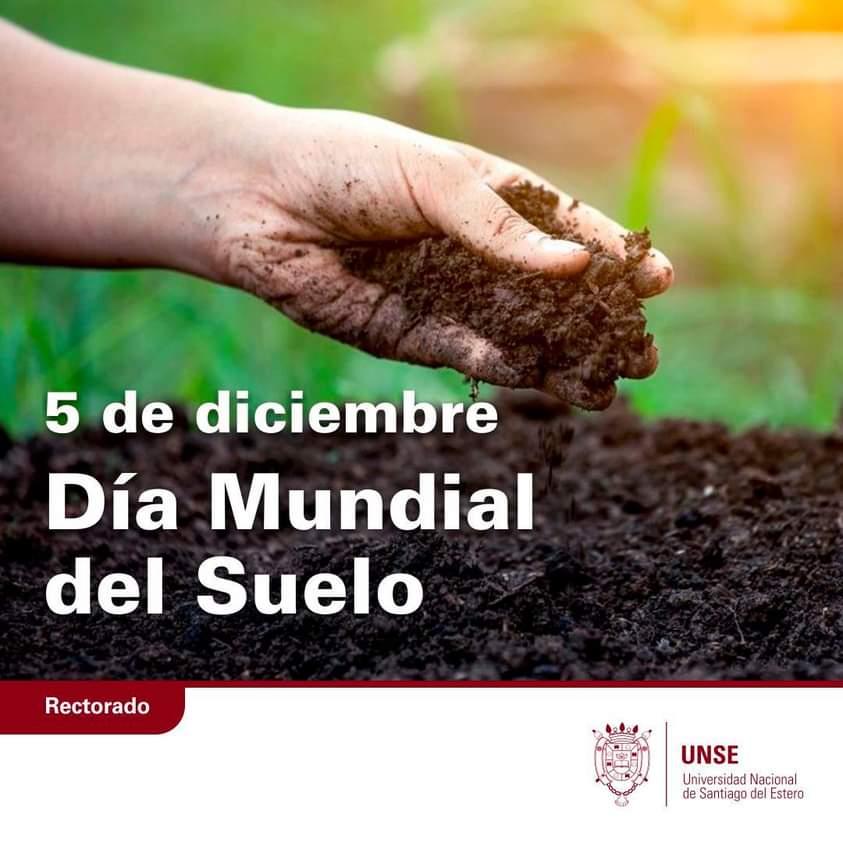 5 de diciembre: Día Mundial del Suelo
