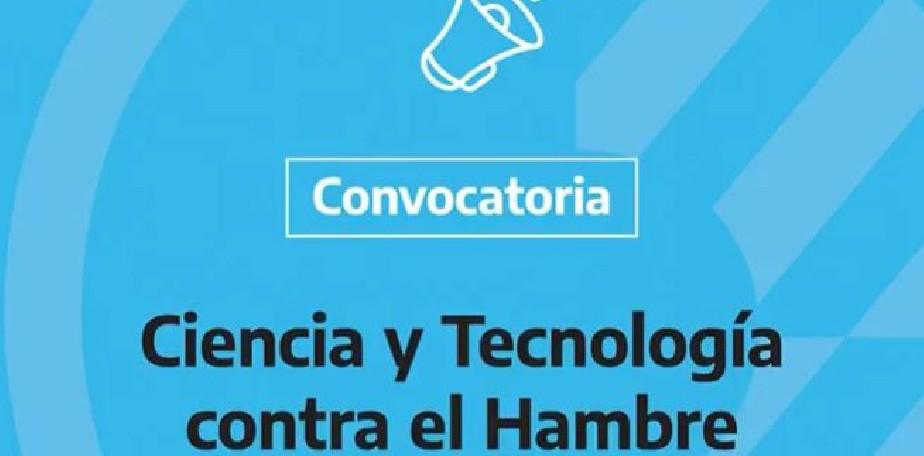 """Convocatoria """"Ciencia y Tecnología contra el Hambre"""""""