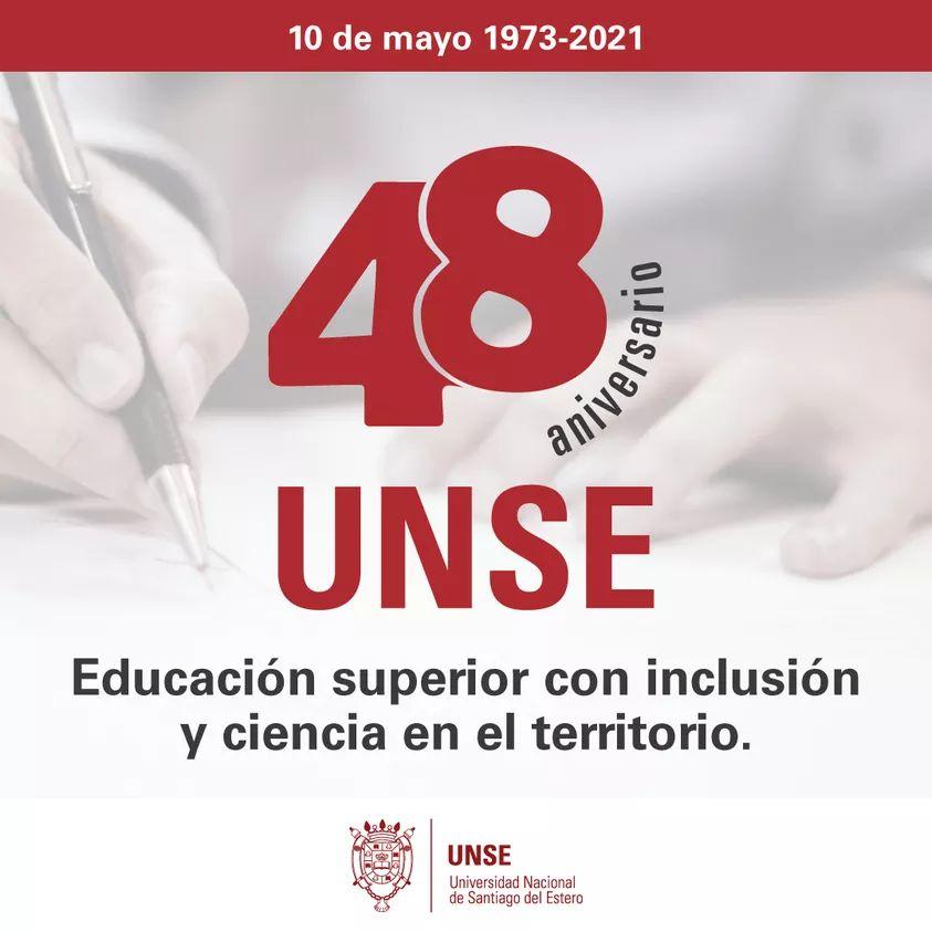 48° Aniversario de la Universidad Nacional de Santiago del Estero