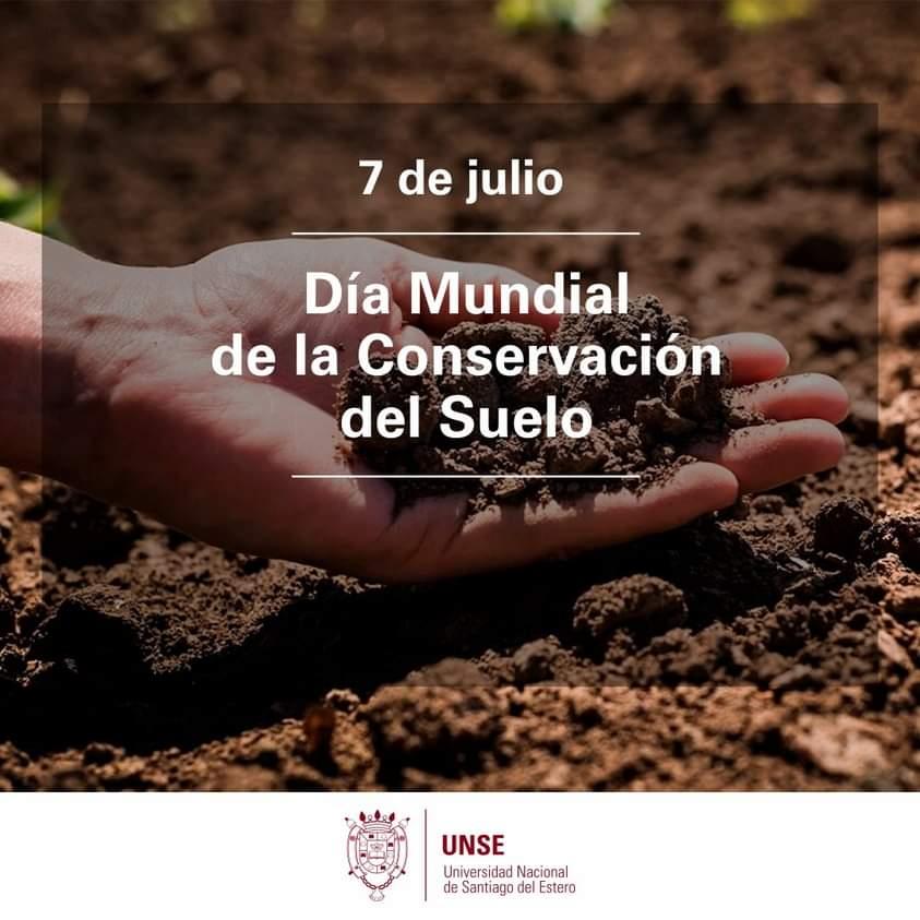 7 de julio: Día Mundial de la Conservación del Suelo